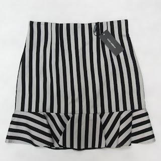 Dolce & Gabbana NEW Stripped Skirt