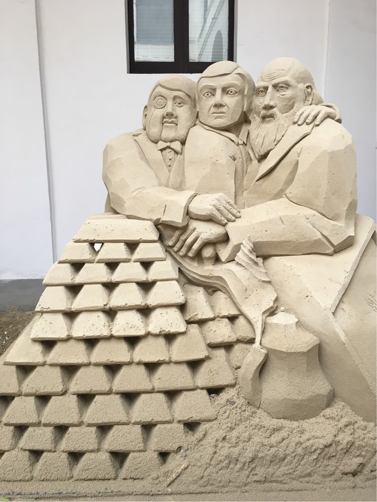 sculture di sabbia salerno