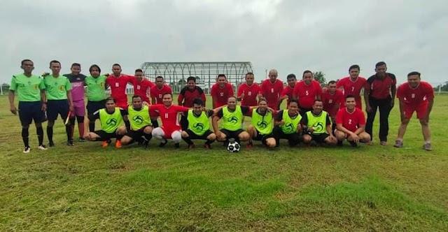 Jalin Keakraban, Polres Gelar Sepakbola Persahabatan