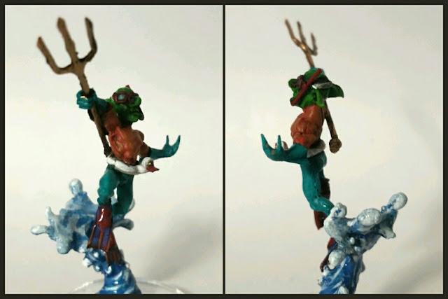 Goblin aguagoblin pintado por Xela