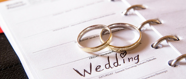 The First Things You Should Consider When Planning a Wedding