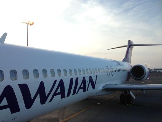 ハワイアンのコナの直行便