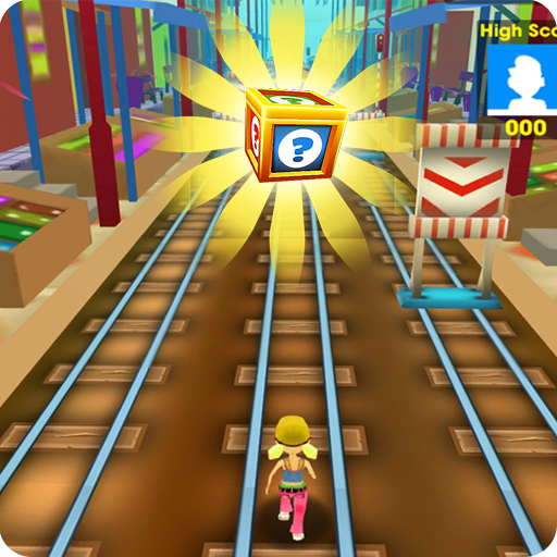 train Surf Run Fun 3d