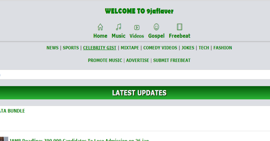 Exposed: Download 9jaflaver Blogger Blogspot Template