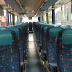 het interieur van de Setra van Besseling bus 510