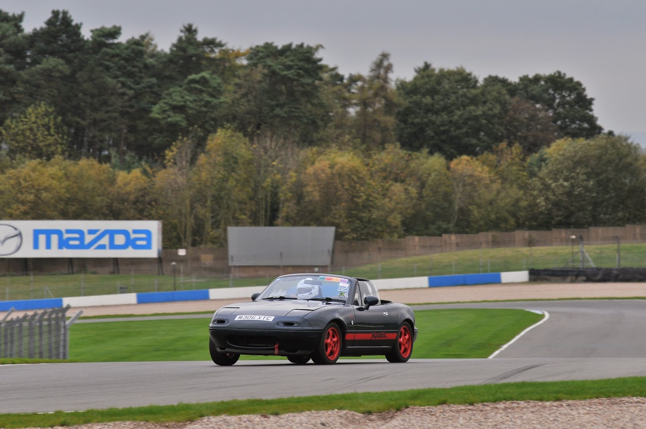 MX5 at Donington Park