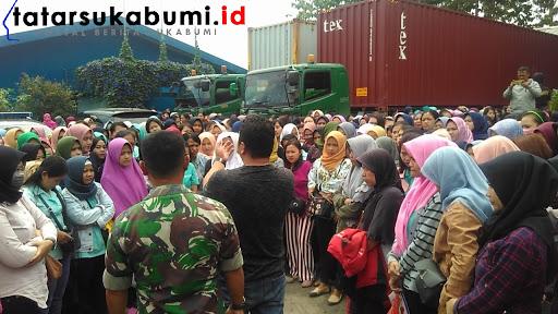 3 Jam Mogok Kerja, Kontrak Buruh PT Nina Venus Indonesia Diperpanjang Hingga Usai Lebaran