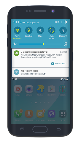 android CM12.x/CM13 Galaxy Note 5 Screenshot 1