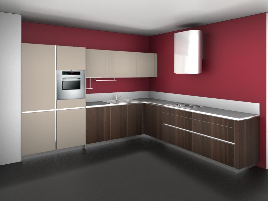Progettazione arredamento con rendering 3d carminati e for Harte arredamenti