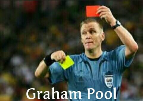 Graham Pool wasit terbaik asal inggris