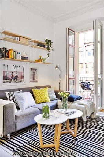Những mẫu phòng khách nhỏ xinh và ấm cúng_NỘI THẤT PHÒNG KHÁCH-10