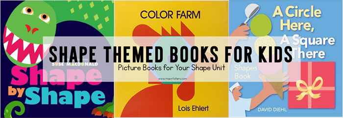 Shape Books for Kids