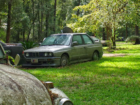 Abandoned BMW E30 M3