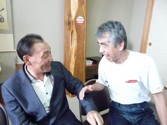 飯田貞光さんと信治さん