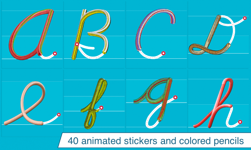 Cursive Writing Wizard Letters- screenshot