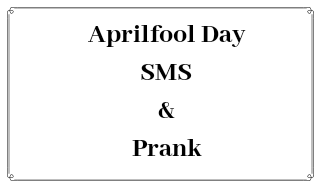 Aprilfool Day SMS in Hindi