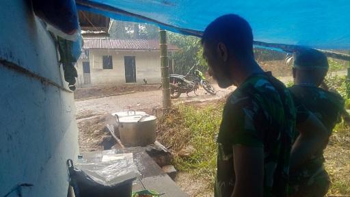 Serda Sarifudin Juru masak  Profesional yang Bekerja  di Dapur Umum TMMD ke-111 Kodim 0212/TS