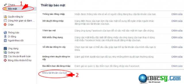 Chán Facebook - Cách khóa nick tài khoản Facebook một thời gian + Hình 3