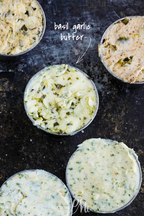 Basil Garlic Butter