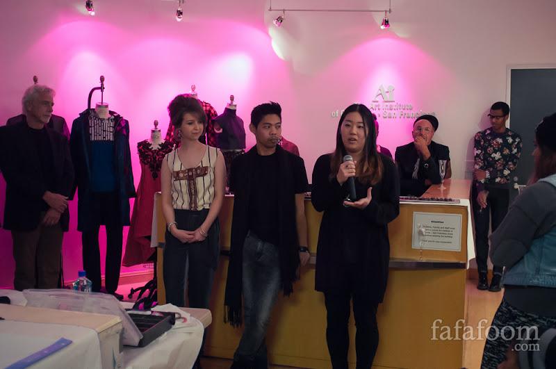 Lauren Barisic, Christopher Maracha, and Rie Yamamoto