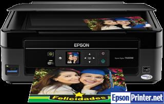 How to reset Epson TX430 printer