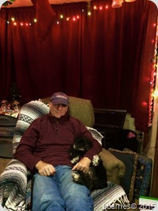 Dave and Maggie Holiday Evening Chilling 12162015