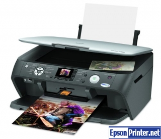 Reset Epson CX7800 printer Waste Ink Pads Counter