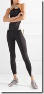 Heroine Sport Mesh Panelled Stretch Leggings