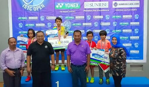Kejuaraan Bulutangkis Tingkat Nasional YonexSunrise ISTC ke-IV tahun 2018 di Sukabumi Melibatkan 1100 Atlet