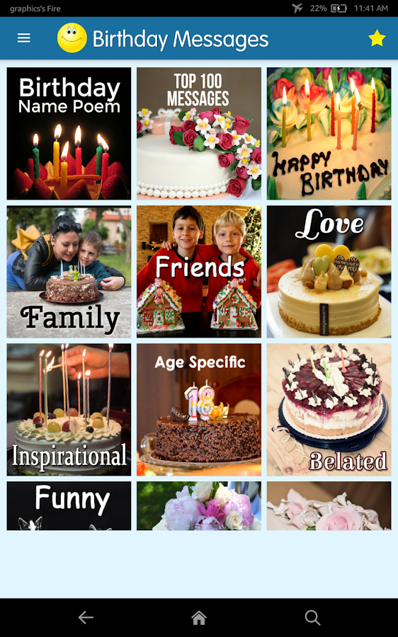 Birthday Cards & Messages - Wish Friends & Family- screenshot
