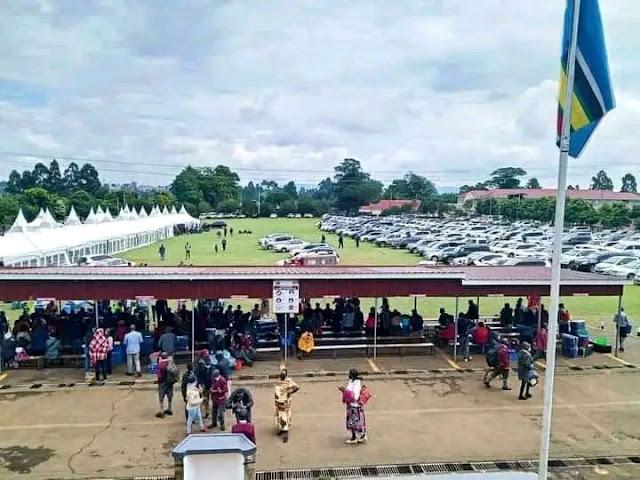 Maranda High School in Siaya county video on student onboard chopper