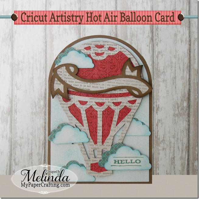 cricut artistry balloon card 650