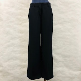 Everlane Black Japanese Go Weave Trousers