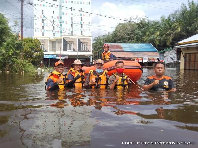 Kalsel Kirim Tim BPBD Bantu Korban Banjir Katingan