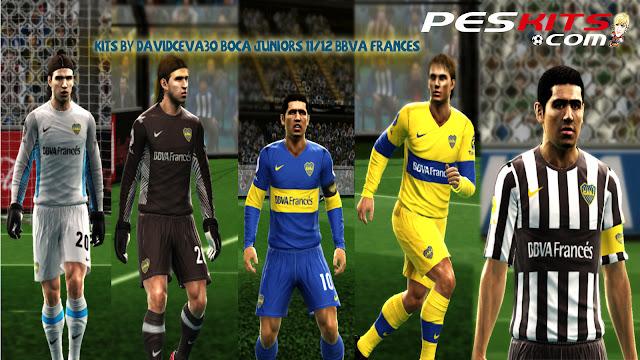 Boca Junior 11-12 Kitset + BBVA - PES 2012
