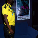 WWW.ENTSIMAGES.COM -   TOPDOG Film Director and Producer of FEDZ Movie sighted at Genesis Cinema, 93-95 Mile End Road, London September 8th 2013                                                  Photo Mobis Photos/OIC 0203 174 1069
