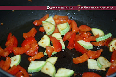 cuscus cu legume coapte preparare