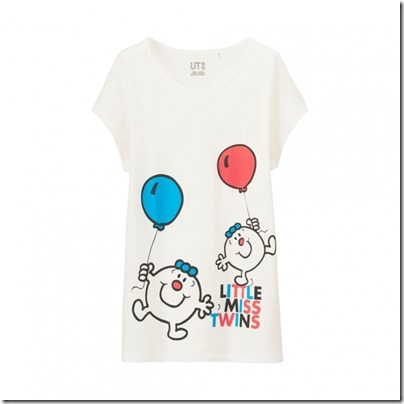 UNIQLO Mr. Men Little Miss UT Graphic T-Shirt woman 03