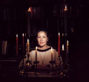 Maxine Preparing For Ritual, Maxine Sanders