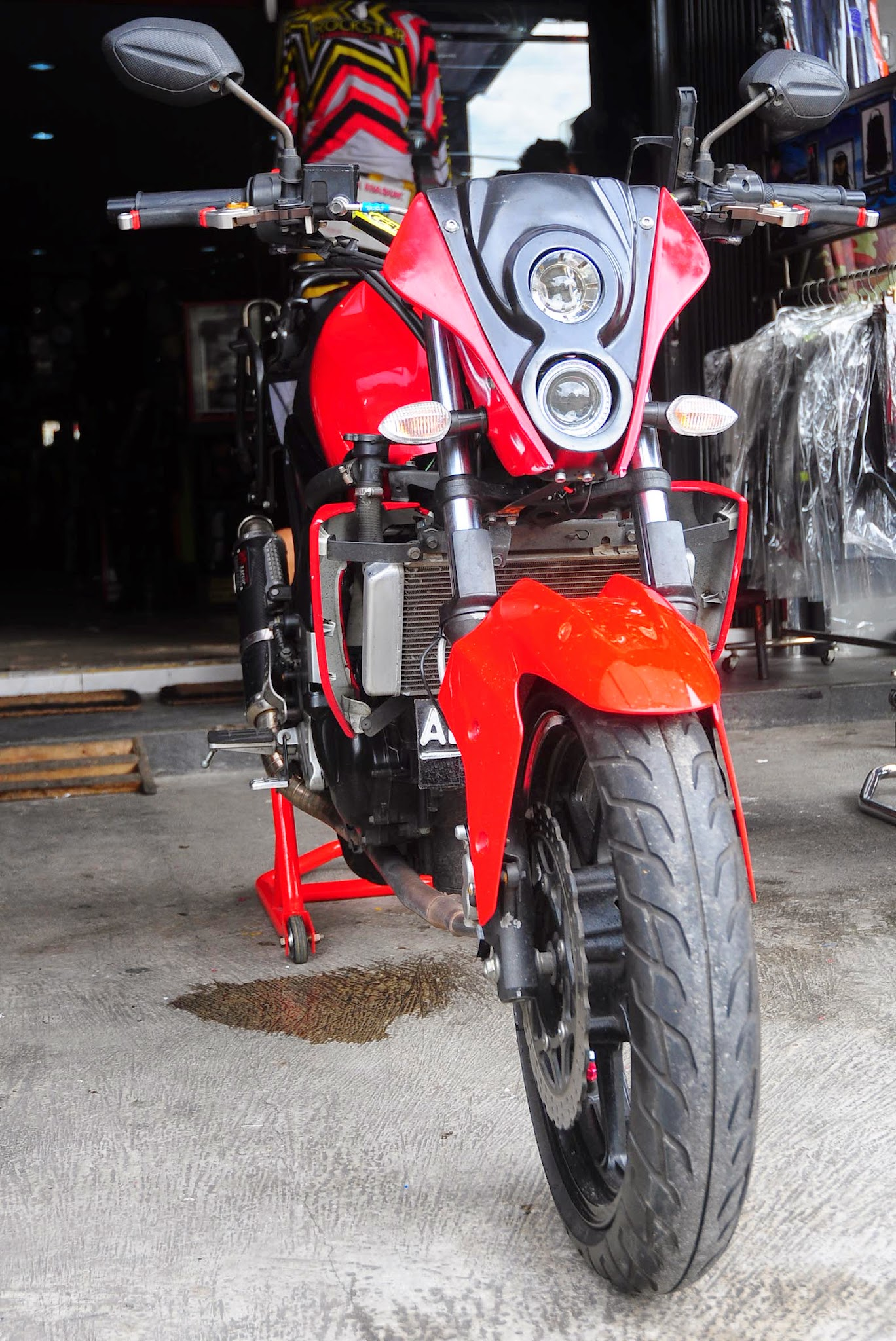 byson modifikasi ducati