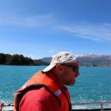 Barco para as Cuevas de Mármol,  Lago General Carrera, Puerto Rio Tranquilo, Chile