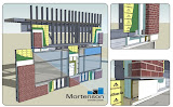 M.A. Mortenson, Exterior wall virtual mockup