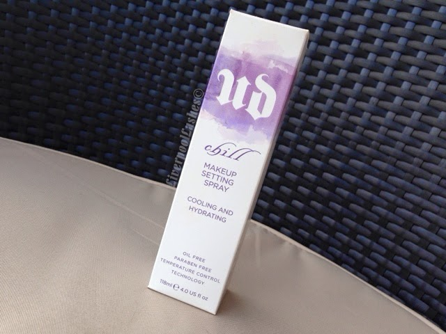 Urban Decay Chill Make Up Setting Spray