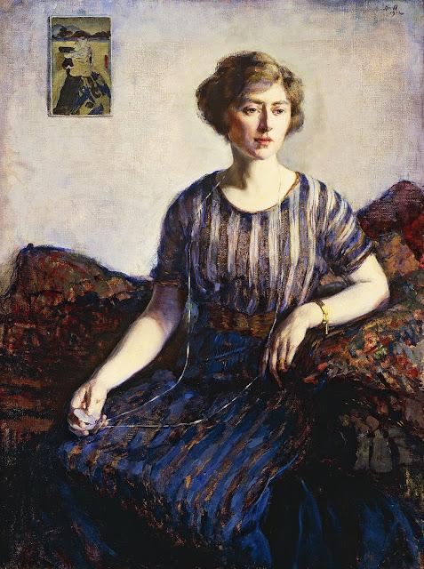 Leon Kroll - Tess Kroll Pergament, the Artist's Sister, 1912