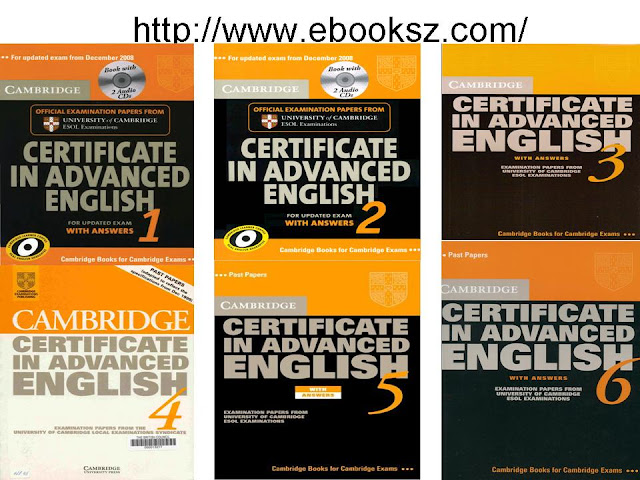 Download Cambridge Certificate In Advanced English 1 2 3 4 5 6 FULL Ebooks Audio