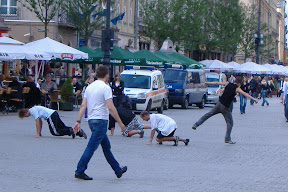 Krakow breakdancers