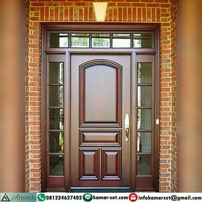 Pintu rumah sederhana simpel cantik