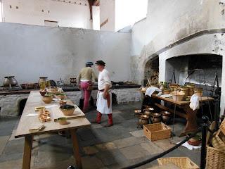 Кухня во дворце Хэмптон Корт