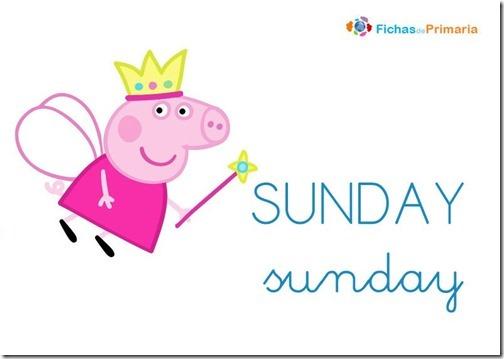 dias-de-la-semana-peppa-pig-ingles-sunday