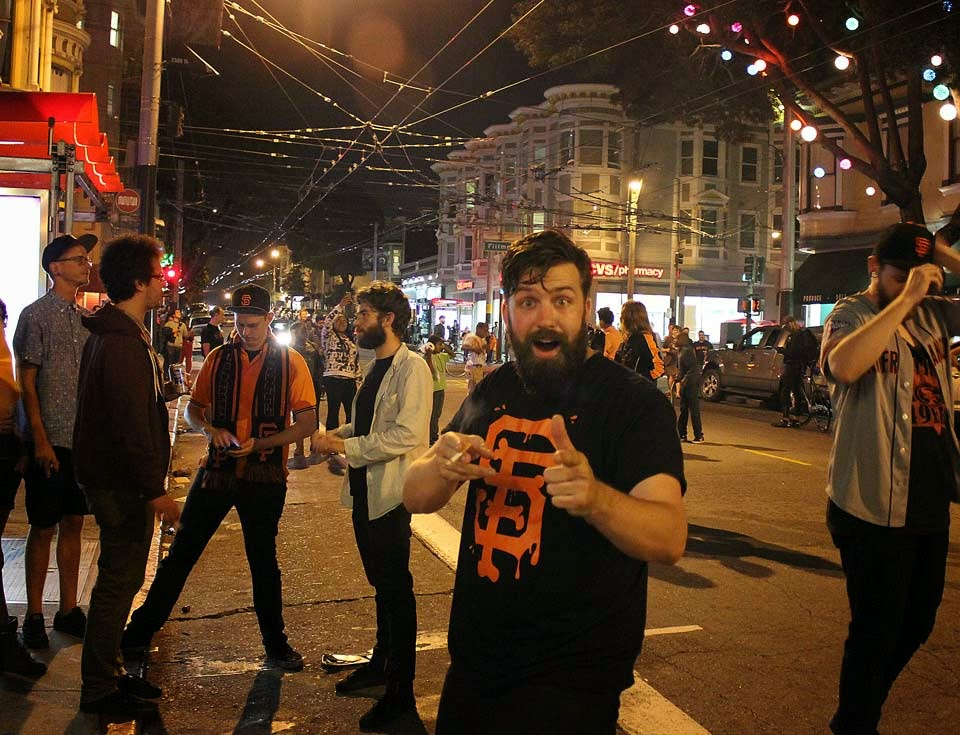 Scenes From A Giants Victory In The Lower Haight Hoodline